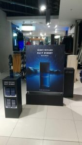 Grapevine media in store advertising Issey Miyake GTW (2)