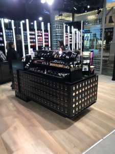 Grapevine media in store advertising MAC Studio Foundation counters - Canal Walk (2)