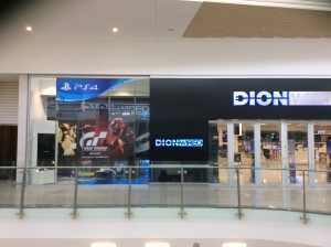 Grapevine media in store advertising Dion wired